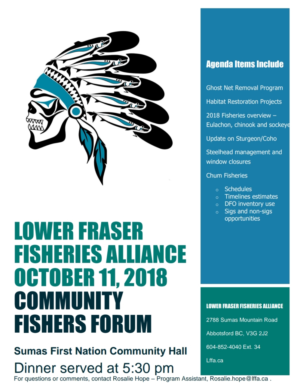LFFA Community Fishers Forum - 2018